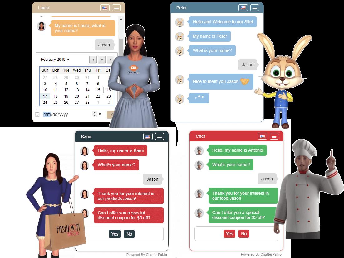 3D Chat Agent