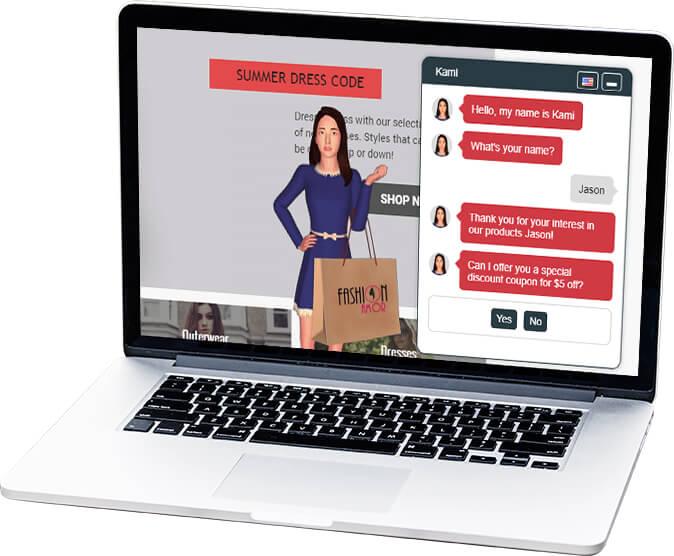 e-commerce store - support